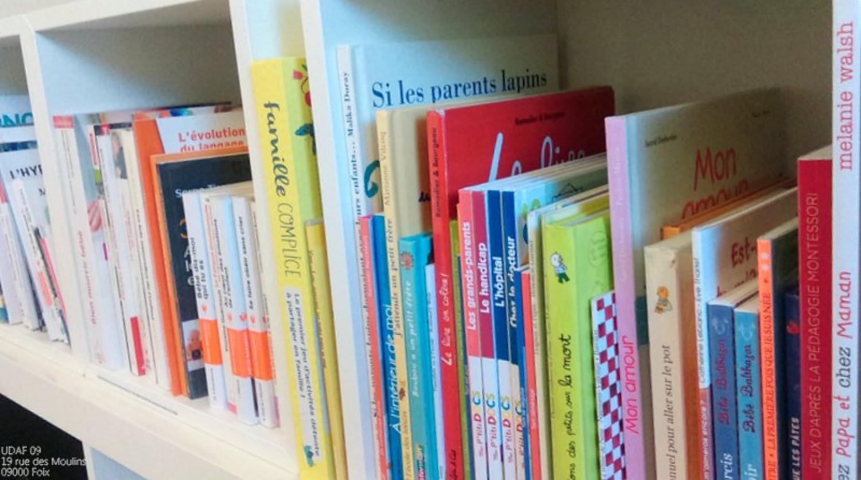 """Actuellement à Fabas : Bibliothèque mobile """"soutien à la parentalité"""""""